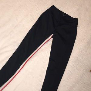 Splits59 7/8 Leggings in indigo, red and white